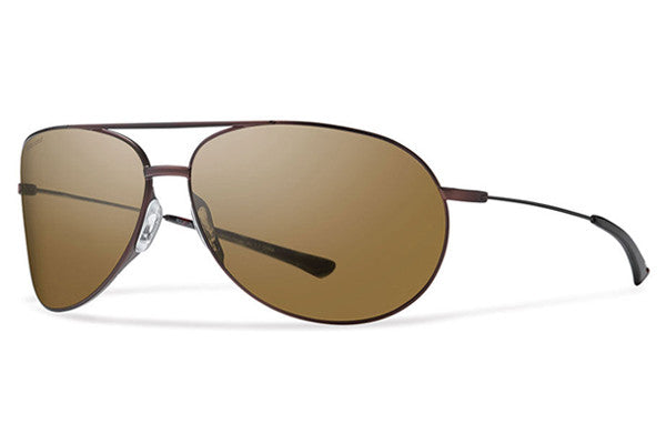 Smith - Rockford Matte Brown Sunglasses, Polarized Brown Lenses