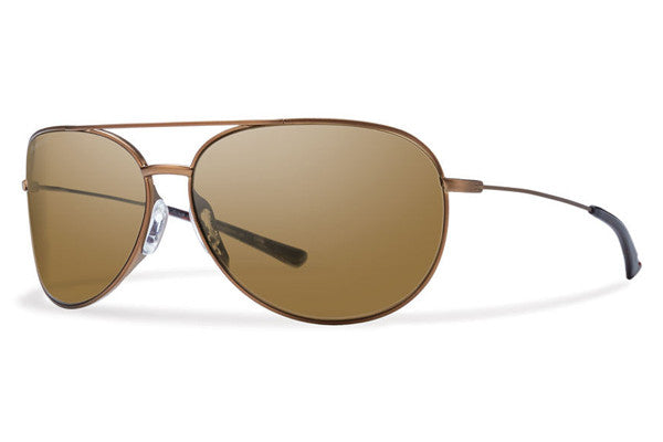 Smith - Rockford Slim Matte Dessert Sunglasses, Polarized Brown Lenses