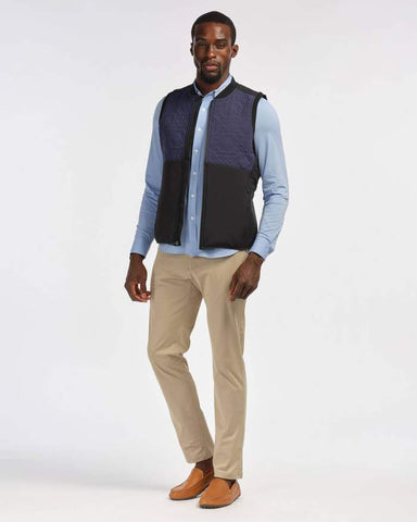 Rhone - Midtown Black Vest