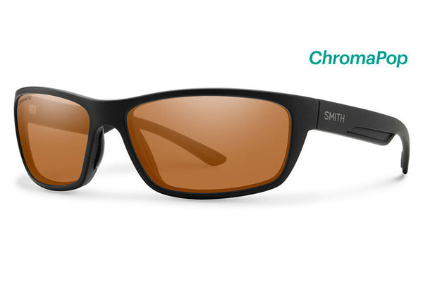 Smith - Ridgewell Matte Black Sunglasses, ChromaPop Polarized Copper Lenses