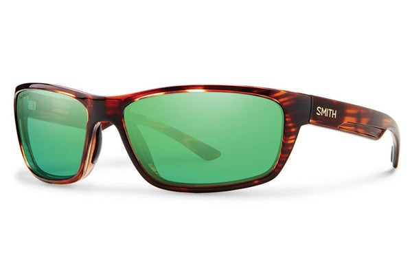 Smith - Ridgewell Tortoise Sunglasses, Techlite Polarized Green Mirror Lenses
