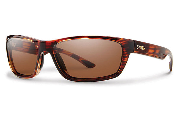 Smith Ridgewell Tortoise Sunglasses, Techlite Polarchromic Copper Lenses