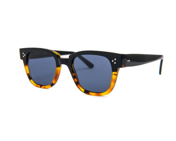 Kyme - Riky Yellow Tortoise & Black Arm Sunglasses