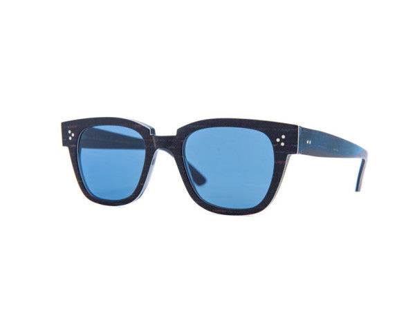 Kyme - Riky Blu Fabric Sunglasses