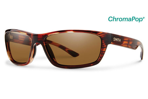 Smith - Ridgewell Tortoise Sunglasses, ChromaPop+ Polarized Brown Lenses