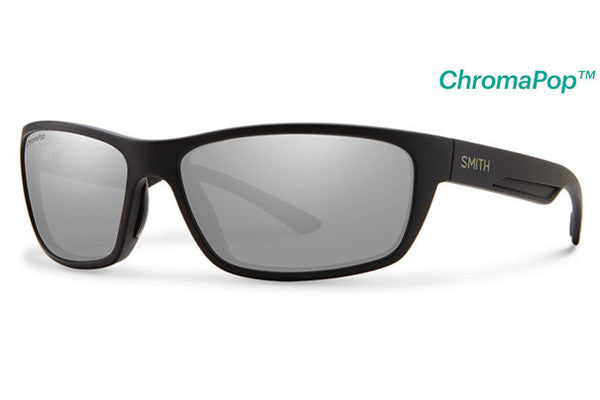 Smith - Ridgewell Matte Black Sunglasses, ChromaPop+ Polarized Platinum Lenses
