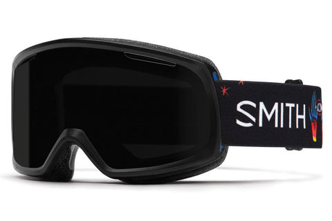 Smith - Riot Asian Fit Desiree ID Goggles, Blackout Lenses