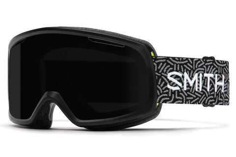 Smith - Riot Black New Wave Goggles, Blackout Lenses