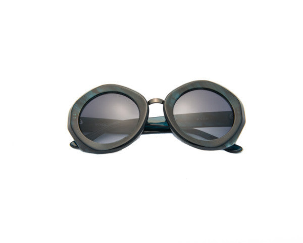 Kyme - Rosa Green Oil Sunglasses