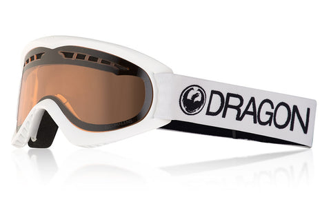 Dragon - DX White Snow Goggles / Lumalens Silver Ion Lenses