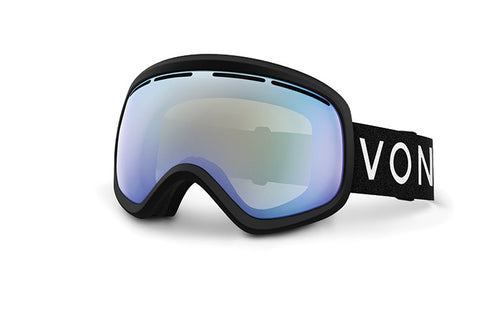 VonZipper - Skylab Black Snow Goggles / Stellar Chrome Lenses
