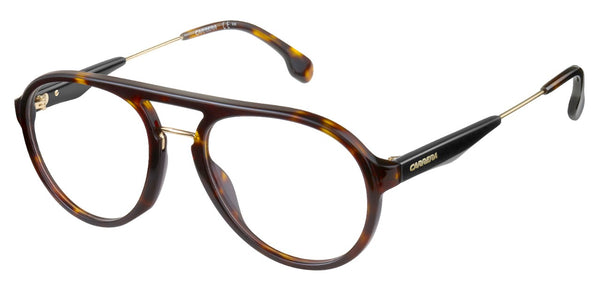 Carrera - 137 Havana Gold Eyeglasses / Demo Lenses