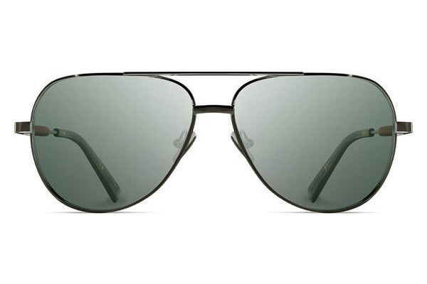 Shwood - Redmond Titanium Black Chrome / G15 Sunglasses