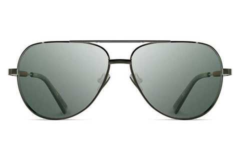 Shwood - Redmond Titanium Black Chrome / G15 Polarized Sunglasses
