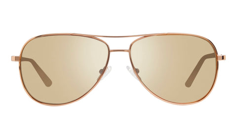 Revo - Relay 59mm Rose Gold Sunglasses / Champagne Lenses
