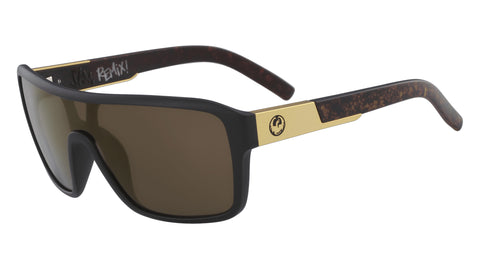 Dragon - Remix Polished Walnut Sunglasses / Brown Lenses
