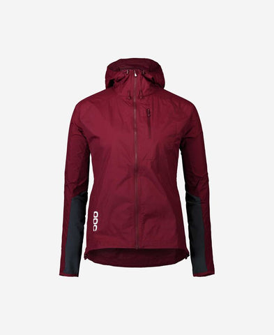 POC - Resistance Enduro Propylene Red Women's  Wind Jacket /  Lenses