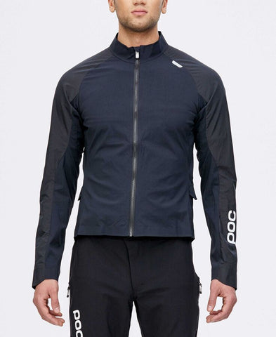 POC - Resistance Pro XC Carbon Black  Splash Jacket /  Lenses
