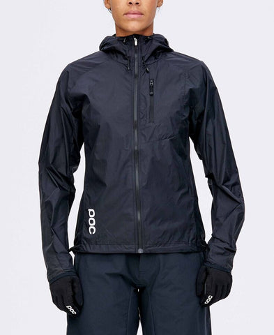 POC - Resistance Enduro Carbon Black Women's  Wind Jacket /  Lenses