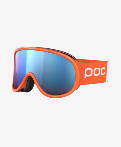 POC - Retina Clarity Comp Fluorescent Orange Snow Goggles / Spektris Blue Lenses