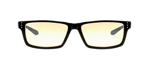 Gunnar - Vertex Onyx Reader Eyeglasses / Amber Blue Light +1.25 Lenses