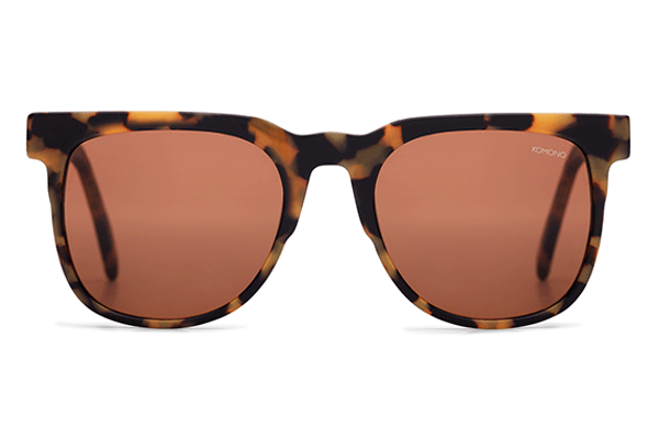 Komono - The Riviera Tortoise Demi Sunglasses