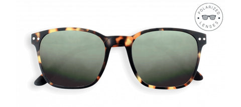 Izipizi - Nautic Tortoise Sunglasses / Green Polarized Lenses