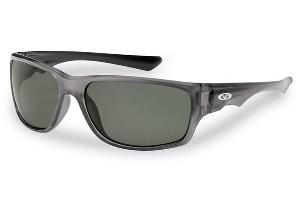 Flying Fisherman - Roller 7760 Crystal Gunmetal Sunglasses, Smoke Lenses