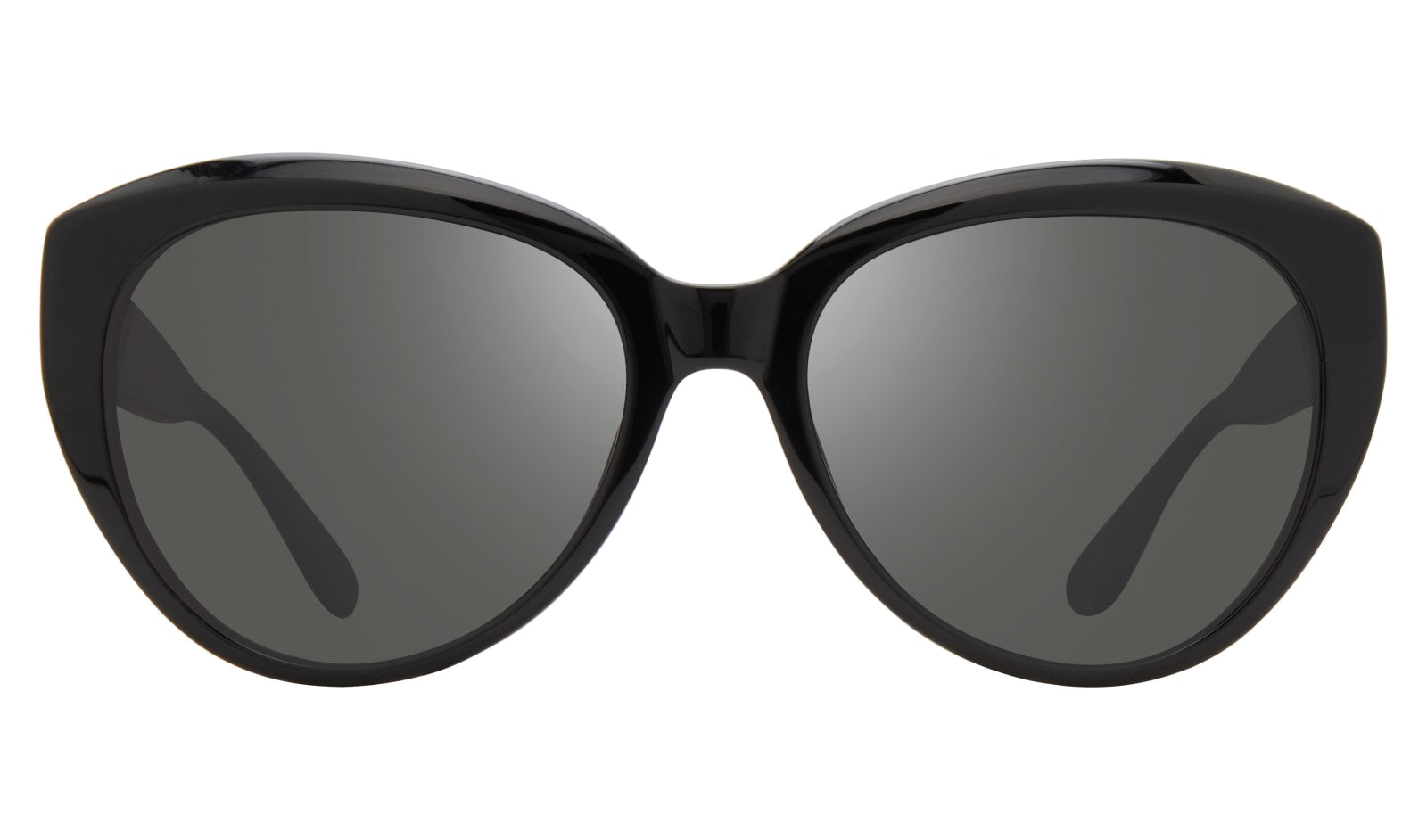 Revo - Rose 55mm Black Sunglasses / Graphite Lenses