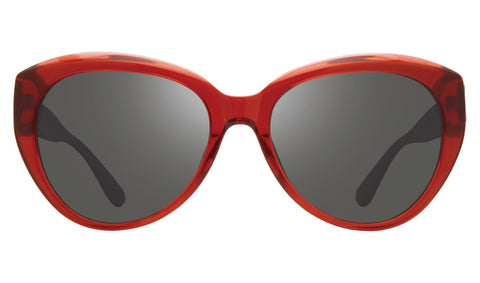 Revo - Rose 55mm Red Sunglasses / Graphite Lenses