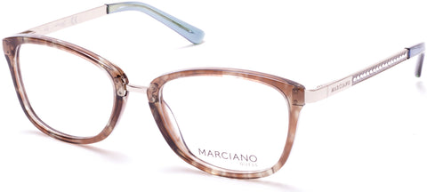 Marciano - GM0325 Colored Havana Eyeglasses / Demo Lenses