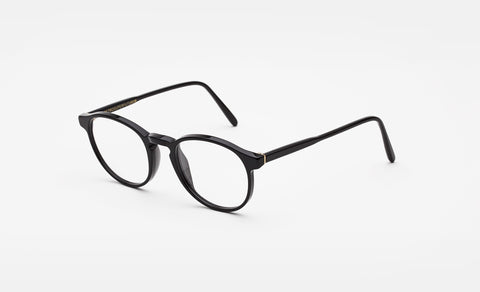 Super - Numero 01 Nero 50mm Black Eyeglasses / Demo Lenses