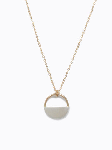 ABLE - Rumi Gold Silver Necklace
