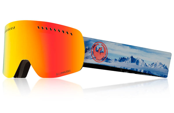 Dragon - NFXs Realm Snow Goggles / Lumalens Red Ion Lenses