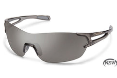Suncloud - Airway Crystal Smoke Sunglasses, Gray Lenses