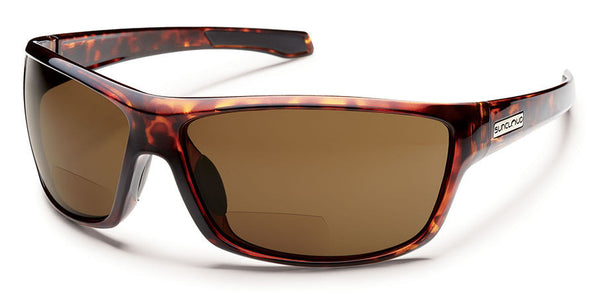 Suncloud - Conductor +1.50 Tortoise Sunglasses, Brown Polarized Lenses