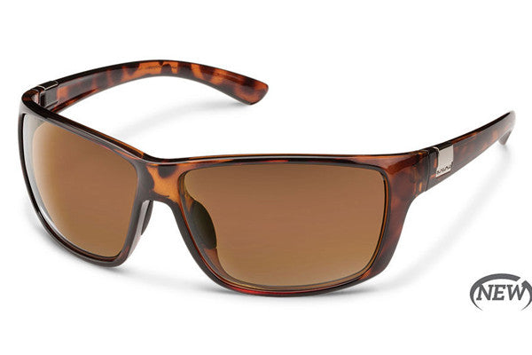 Suncloud - Councilman Tortoise Sunglasses, Brown Polarized Lenses