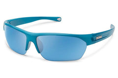 Suncloud - Detour Glacier Blue Sunglasses, Blue Mirror Lenses
