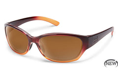 Suncloud - Duet Wine Fade Sunglasses, Brown Lenses