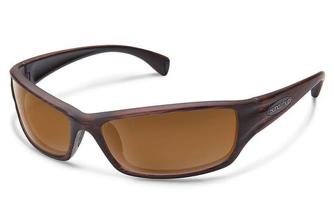 Suncloud - Hook Burnished Brown Sunglasses, Brown Lenses