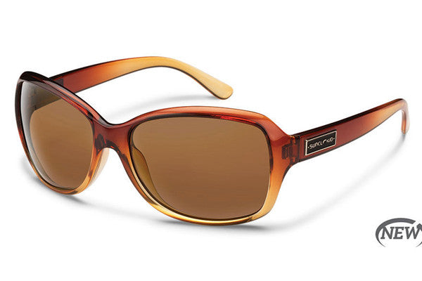 Suncloud - Mosaic Brown Fade Sunglasses, Brown Polarized Lenses