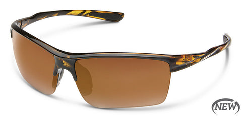 Suncloud - Sable Tortoise Sunglasses / Polarized Brown Lenses