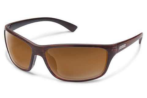 Suncloud - Sentry Burnished Brown Sunglasses, Brown Lenses