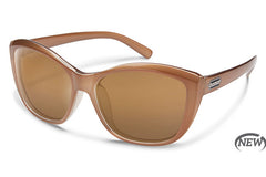 Suncloud - Skyline Bronze Sunglasses, Sienna Mirror Lenses