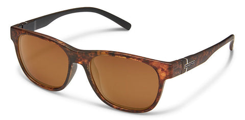 Suncloud - Scene Blackened Tortoise Sunglasses / Polarized Brown Lenses