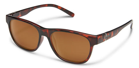 Suncloud - Scene Tortoise Sunglasses / Polarized Brown Lenses