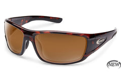 Suncloud Tribute Tortoise Sunglasses, Brown Lenses