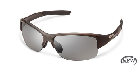 Suncloud - Torque Matte Smoke Sunglasses / Photochromic Lenses