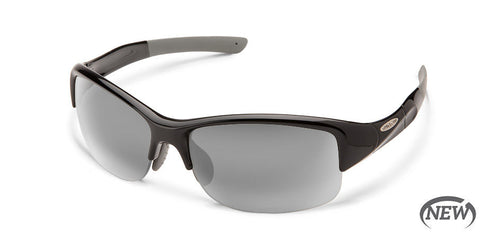 Suncloud - Torque Black Sunglasses / Polarized Gray Lenses
