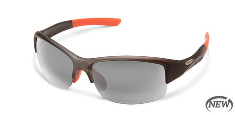 Suncloud - Torque Matte Smoke Sunglasses / Polarized Gray Lenses